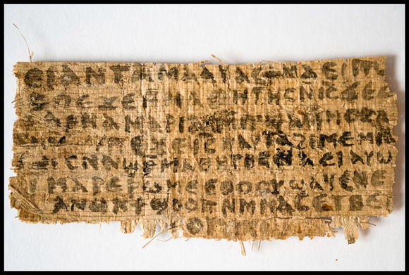 Controversy Surrounds the &quot;Jesus' Wife&quot; Papyrus: What Does it Mean?