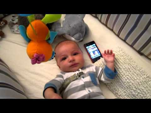 Baby Calms Down With Star Wars Theme {Video}