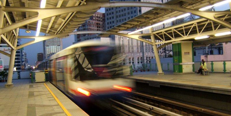 Skytrain Departure